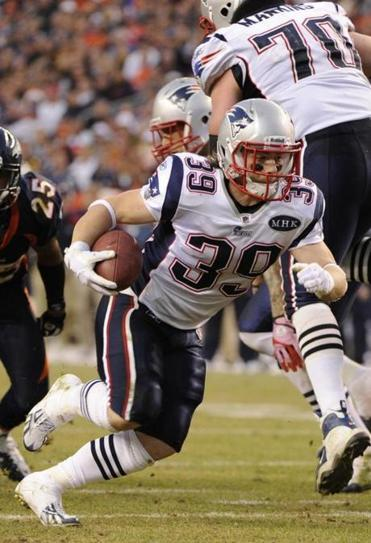 Danny Woodhead showed great vision and moves and scored his third-quarter touchdown basically untouched.
